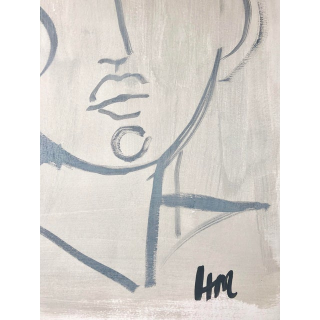 Hayley Mitchell Figure Painting For Sale In Atlanta - Image 6 of 7