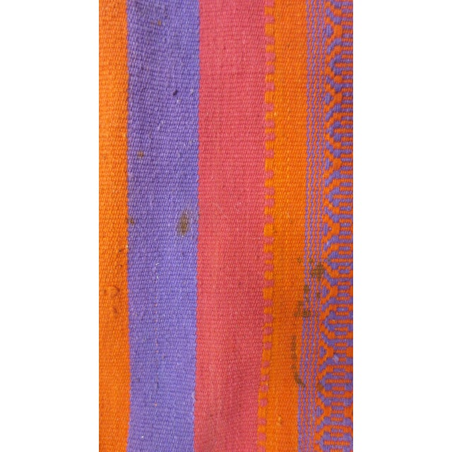 "Orange & Pink Woven Rug- 3'4"" X 6' - Image 5 of 7"