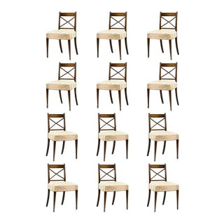 Regency Era Dining Chairs - Set of 12 For Sale