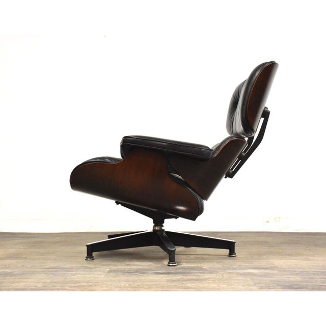 Stupendous Original Herman Miller Eames Lounge Chair Ottoman Dailytribune Chair Design For Home Dailytribuneorg