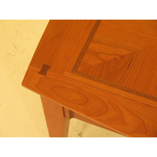 Harden arts & crafts 2 drawer coffee table. Features solid cherry, dovetailed drawer construction and high quality...