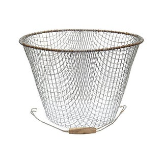Large Vintage French Wire Basket Preview