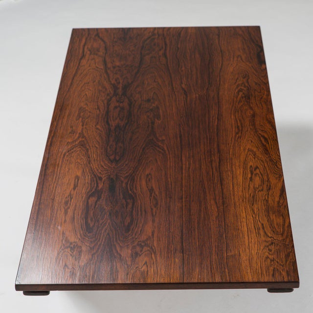 Mid-Century Modern Coffee Table by Gianfranco Frattini for Bernini For Sale - Image 3 of 11