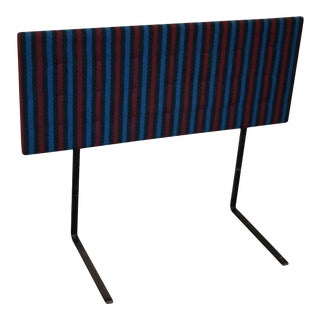 Knoll Mid Century Modern Upholstered Headboard (A) For Sale