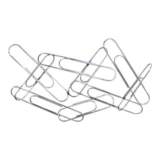 Curtis Jere Large Paper Clip Wall Sculpture For Sale