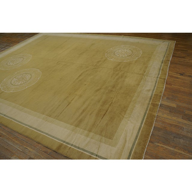 Antique Chinese Art Deco Rug For Sale - Image 10 of 12