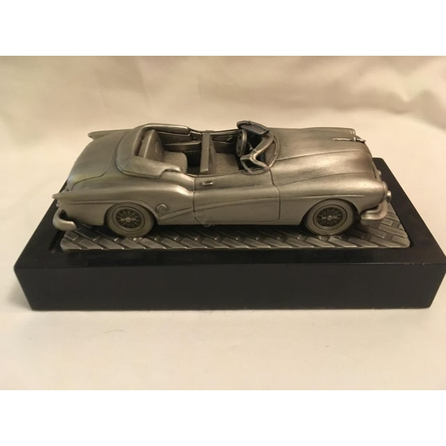 Late 20th Century 1953 C.Rufo Buick Convertiable Pewter Model Car For Sale - Image 5 of 13