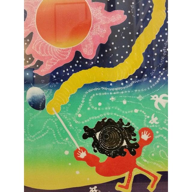 "Motoi Oi ""Playing Child Joy"" Print - Image 3 of 10"