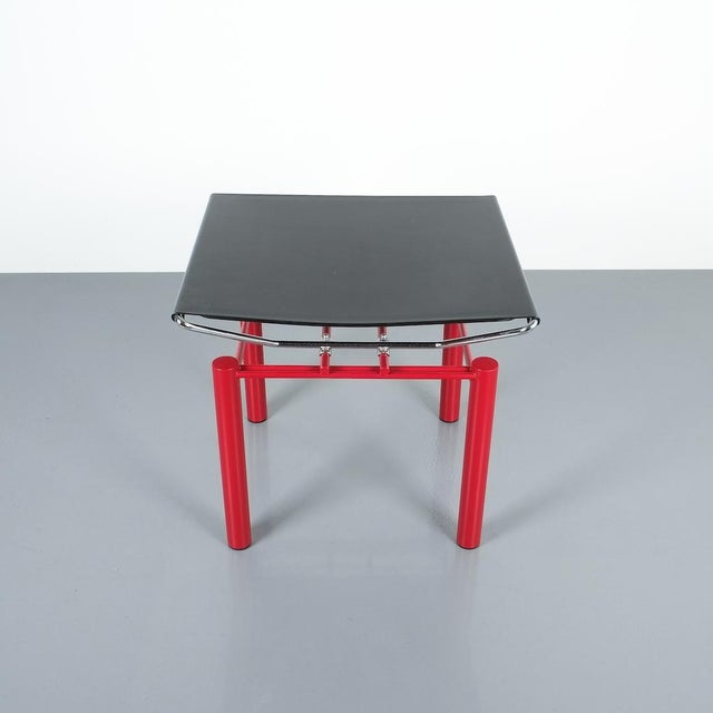 Hans Ullrich Bitsch Side Table Series 8600, Circa 1980 For Sale - Image 4 of 6