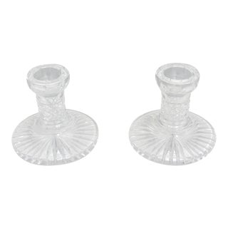 Waterford Crystal Candlesticks - a Pair For Sale