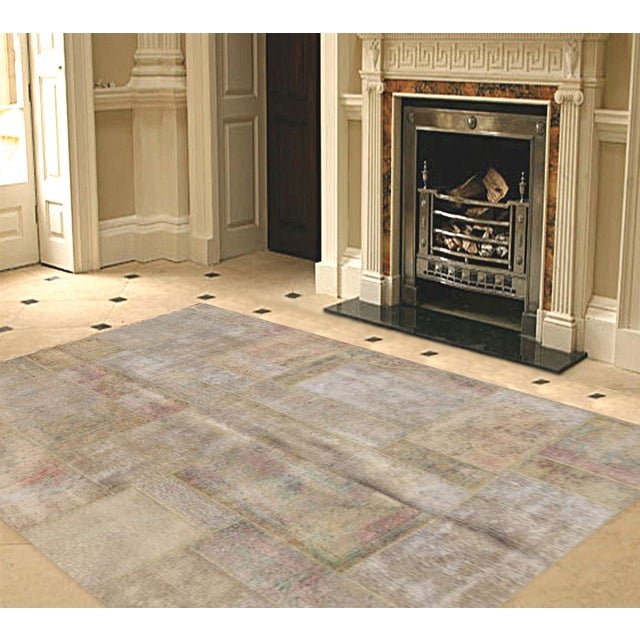 "Pasargad Patchwork Collection Rug - 5'9"" X 7'10"" - Image 2 of 2"