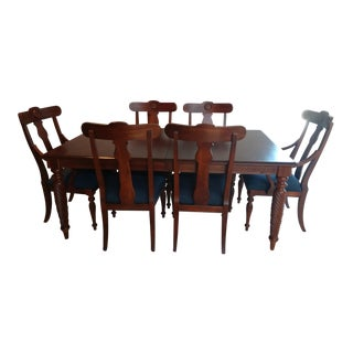 Ethan Allen British Classics Dining Set For Sale