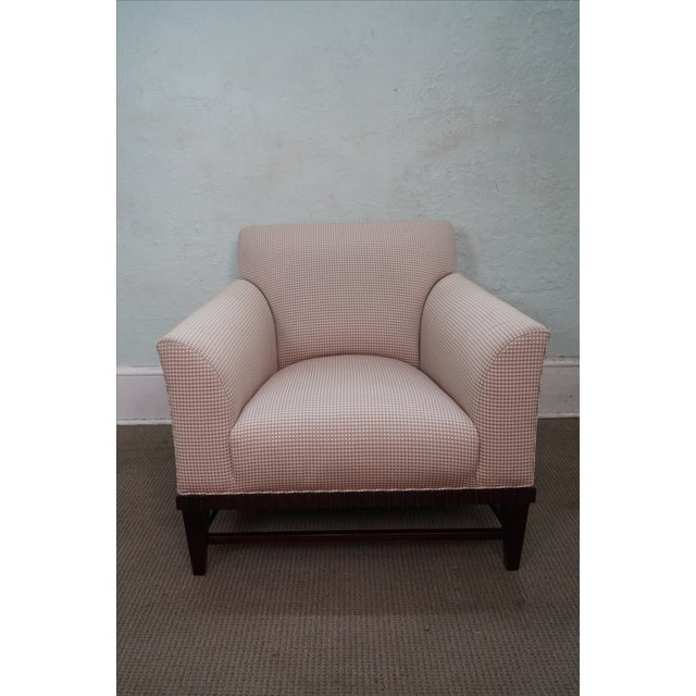 Baker Barbara Barry Collection Lounge Chair AGE/COUNTRY OF ORIGIN: Approx 15 years, America DETAILS/DESCRIPTION: High...