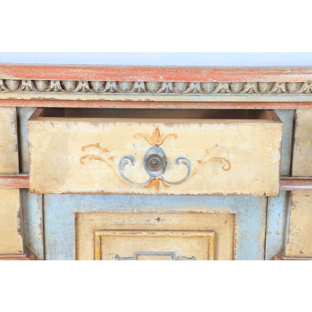 1970s 1970s Hand Painted Italian Cabinet For Sale - Image 5 of 13