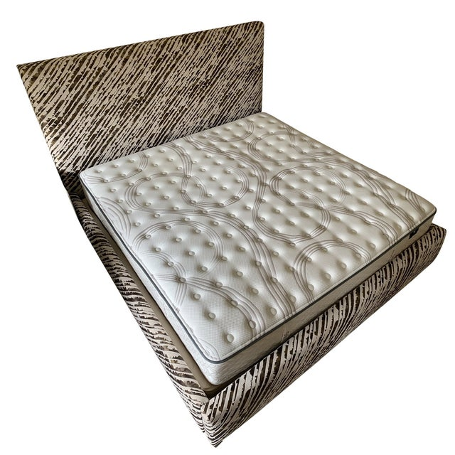 Abc Home & Carpet Bed Upholstered With Donghia Fabric For Sale - Image 13 of 13