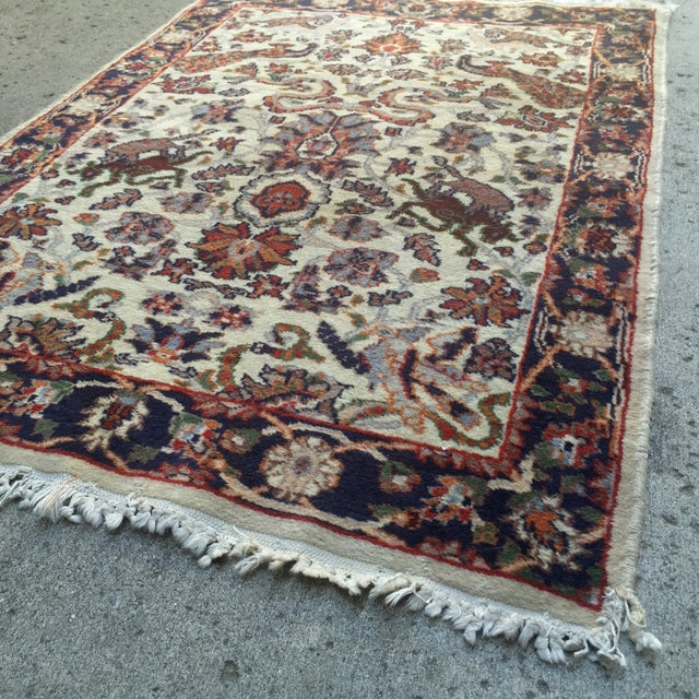 "Hand Knotted Persian Rug - 2'1"" X 3'1"" - Image 4 of 5"