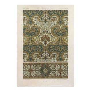 Decorator Prints C. 1875 Firmin Didot - A Pair
