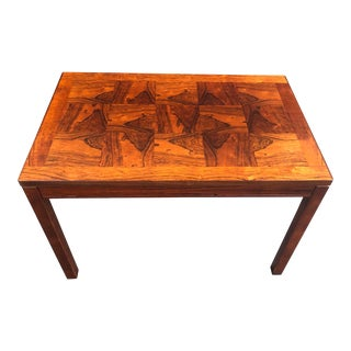 20th Century Norwegian Heggen Rosewood Side Table For Sale