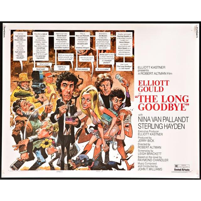 "1973 Robert Altman ""Long Goodbye"" Film Poster - Image 2 of 3"