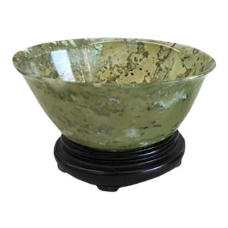 19th Century Chinese Jade Bowl For Sale