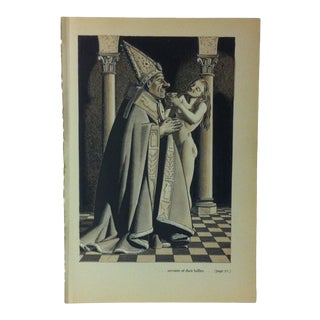 """1949 """"Servants of Their Bellies"""" the Decameron of Giovanni Buccaccio Illustrated Print For Sale"""