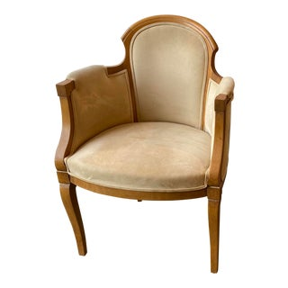 1940s French Modern Armchair For Sale