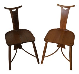 Image of Wishbone Chairs