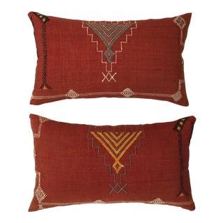 Cactus Silk Pillows - a Pair