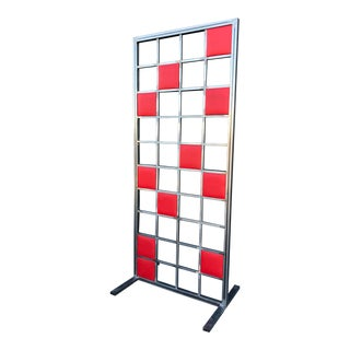 Mid Century Modern Style Room Divider For Sale