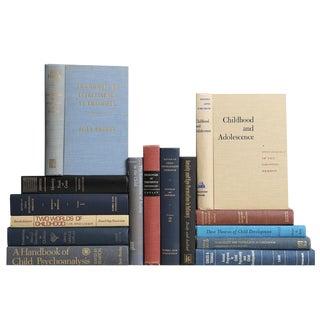 Vintage Child Psychology Book Set - Fifteen Decorative Books