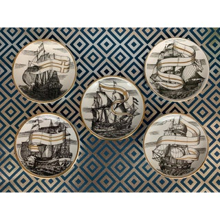 Fornasetti Vintage Cocktail Coasters - Set of 5 Preview