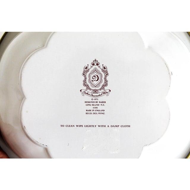 Vintage Daher English Tin Bowl For Sale - Image 4 of 6