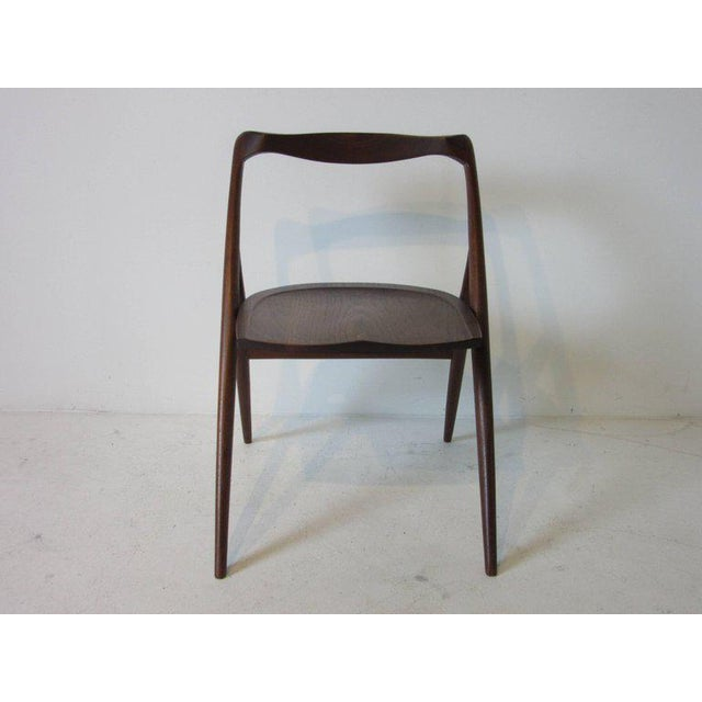Wood George Suyeoka Studio Chair Prototype in the Style of George Nakashima For Sale - Image 7 of 7