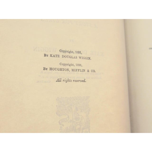 """Americana 1896 Antique ''Polly Oliver's Problem"""" a Story for Girls Book For Sale - Image 3 of 4"""