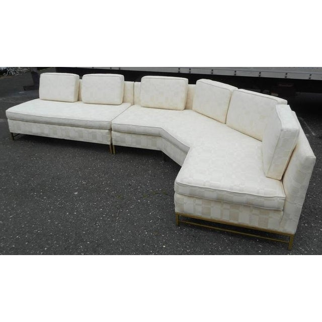 Impressive Two-Piece Mid-Century Modern Sofa by Paul McCobb for Directional - Image 4 of 11