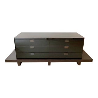 Christian Liaigre Custom Oscuro Cabinet Chest of Drawers For Sale