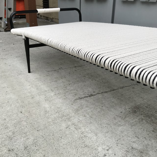 Newly Refinished Rare Chaise Lounge by Mallin For Sale - Image 11 of 13