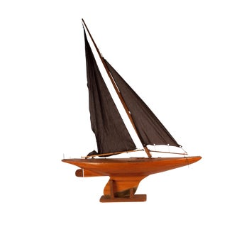 1920 Vintage English Pond Yacht For Sale