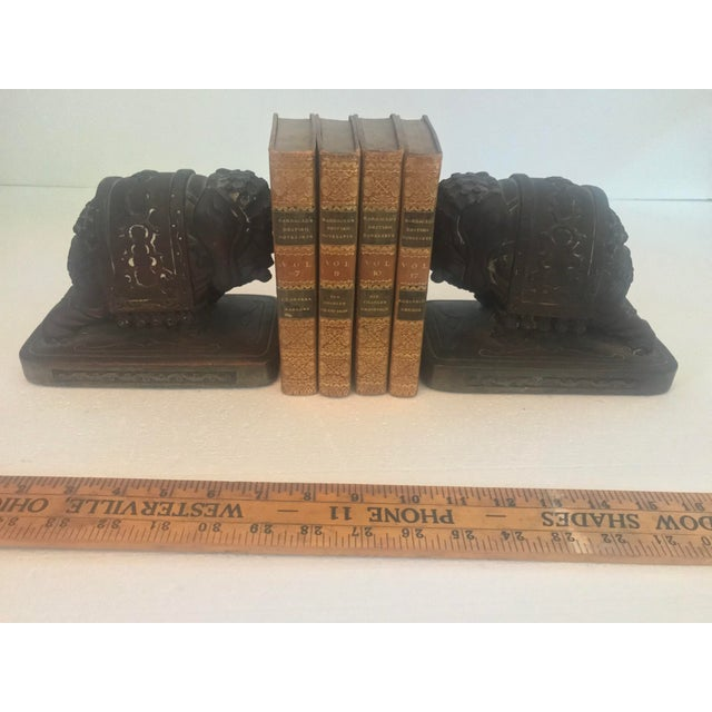 Armor Bronze Armor Bronze Company 1920s Elephant Bookends - a Pair For Sale - Image 4 of 13