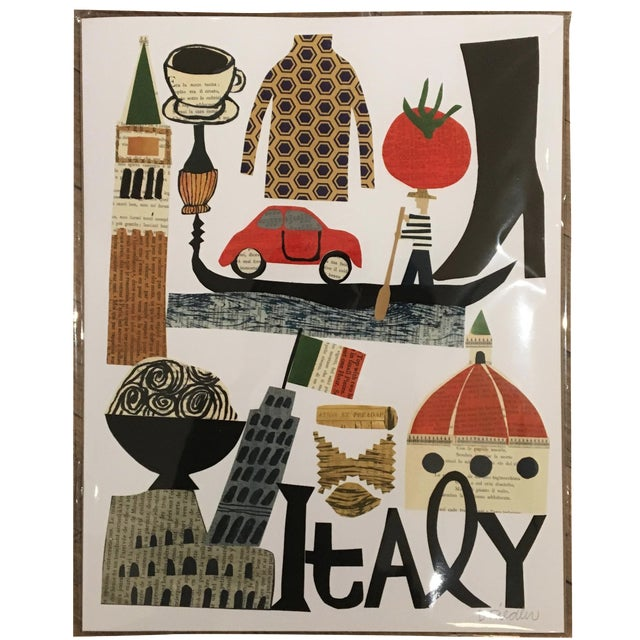 Italy Collage Print by Denise Fiedler - Image 1 of 4