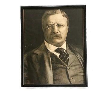 Vintage Theodore Roosevelt Framed Portrait Preview