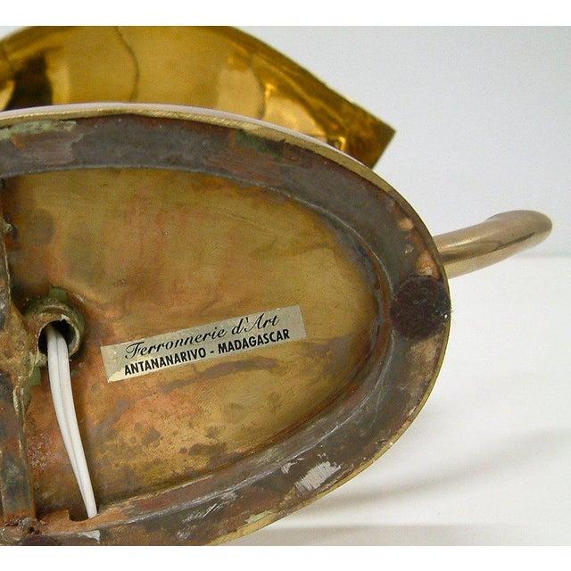 Bronze Henri Fernandez Table Lamp For Sale - Image 7 of 10