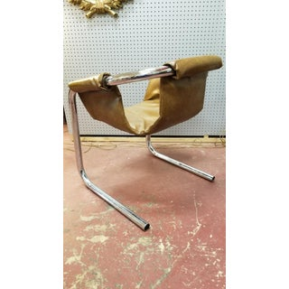 Mid Century Modern Italian Zermatt Sling Chairs by Vector Group - Pair Preview