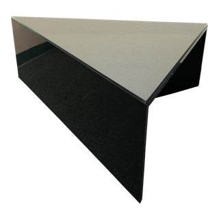 Custom Triangle Cocktail Table For Sale