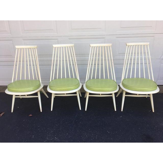 'Mademoiselle' Lounge Chair by Ilmari Tapiovaara for Edsby Verken - Set of 4 For Sale - Image 10 of 10