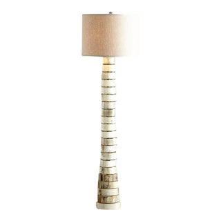 Stacked-Horn Floor Lamp For Sale