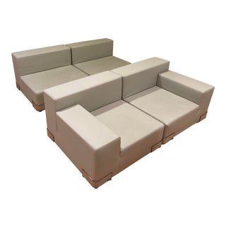 "Kartell ""Plastics"" Modular Sectional Sofa - 4 Pieces For Sale"