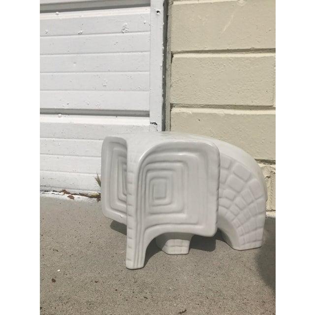 Ceramic Jonathan Adler Ceramic Menagerie Elephant For Sale - Image 7 of 7