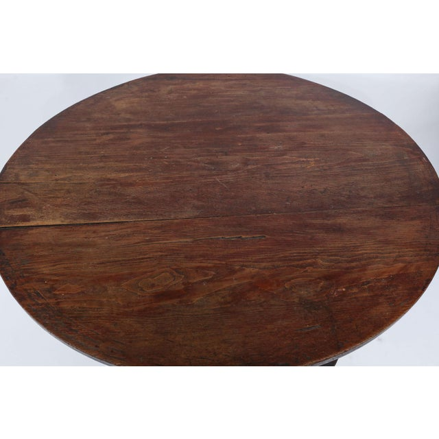 Large Pine Cricket Table For Sale - Image 10 of 13