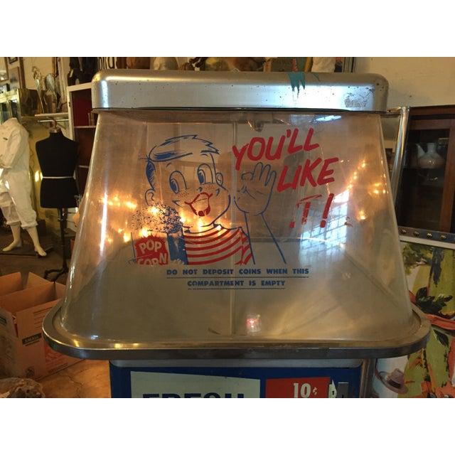 Vintage Functional Popcorn Dispenser For Sale - Image 4 of 10